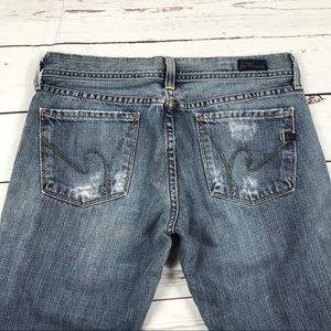 Women's Citizens Of Humanity Size 28 Flair Jeans